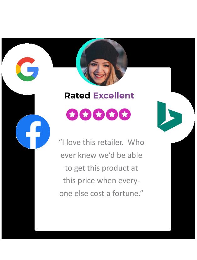 seller ratings card